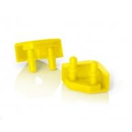 NOCTUA NA-SAVP5.yellow - sada 16 ks proti vibračních podložek pro ventilátory, žlutá