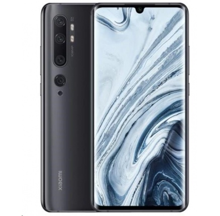 Xiaomi Mi Note 10, 6GB/128GB, Midnight Black - Rozbaleno