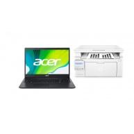 """ACER Aspire 3 AMD 3020e,4GB,128GBSSD,15.6"""" FHD + HP LaserJet Pro MFP M130nw + První spuštění"""