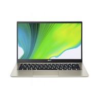 """ACER NTB Swift 1 - Pentium Silver N5030@1.10GHz,4GB,128GBSSD,14"""" FHD,WiFi+BT,cam,backl,USB3.2,USB Type-C,W10H-S,Zlatá"""