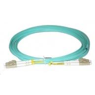 Duplexní patch kabel MM 50/125, OM3, LC-LC, LS0H, 3m
