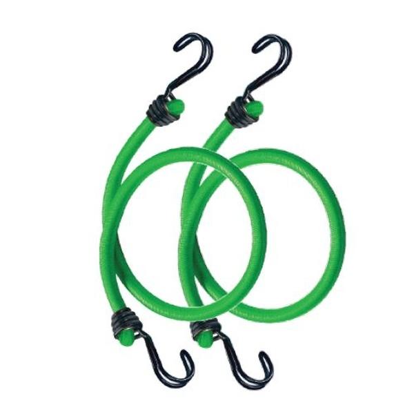 Master Lock 3021EURDAT Set 2 ks upínací gumy s háčky  - 80 cm