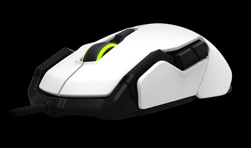 ROCCAT myš ROC-11-503 KOVA Pure Performance Gaming Mouse, bílá
