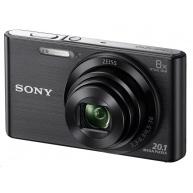 SONY DSCW830B Cyber-Shot 20.1MPix, 8x zoom - černý