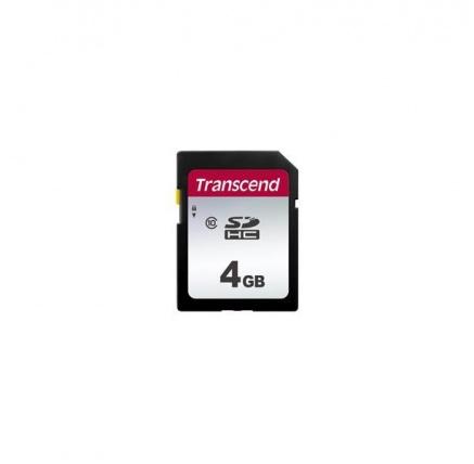 TRANSCEND SDHC karta 4GB 300S, Class 10 (R:95/W:45 MB/s)