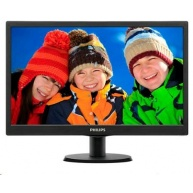 "Philips MT LED 19,5"" 203V5LSB26/10 - 1600x900, 5ms, 10M:1, 200cd/m2, D-Sub"