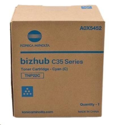Minolta Toner TNP-22C, azurový do bizhub C35, C35P (6k)
