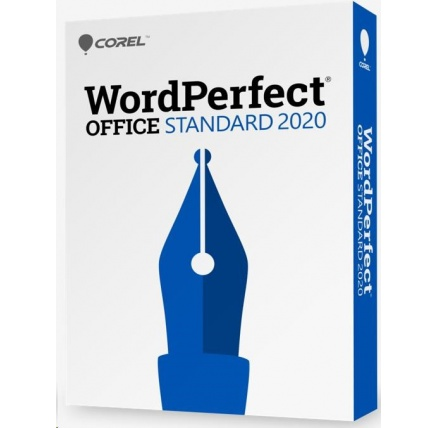 WordPerfect Office 2020 Standard Single User Upgrade License ML EN/FR