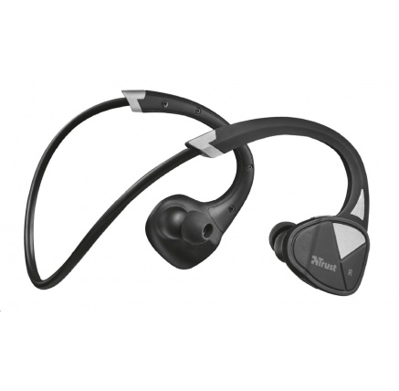 TRUST sluchátka Velo Neckband-style Bluetooth Wireless Sports Earphones