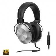 Náhlavní sluchátka-stříbrná-SE-MS5T-S