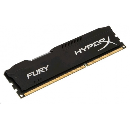 DIMM DDR3 4GB 1600MHz CL10 KINGSTON HyperX FURY Black