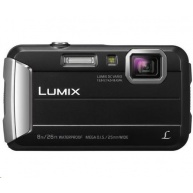 "Panasonic DMC-FT30EP-K black (16 Mpx, 4x zoom, 2.7"" LCD, HD video, odolný)"