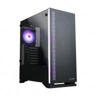 ZALMAN S5 Black, skříň ATX bez zdroje , RGB