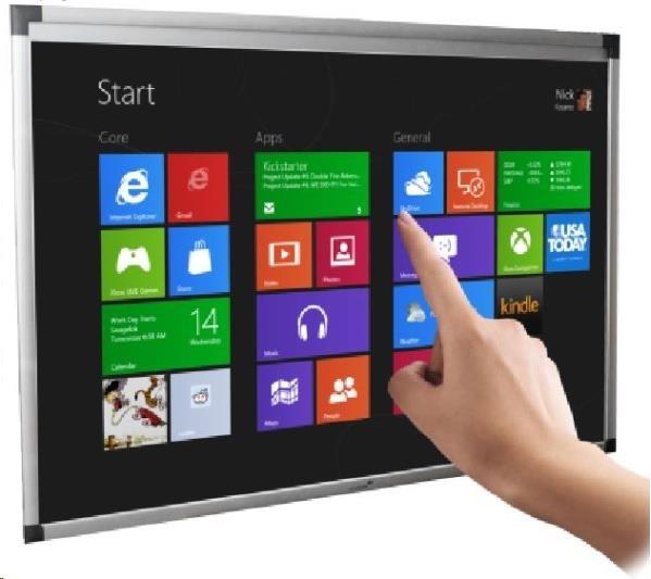 """Legamaster Dotyková interaktivní tabule e-board touch 87"""" (16:10) 2C"""