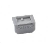 SMARTKEEPER Mini DisplayPort Lock Mini 10 - 10x záslepka, šedá