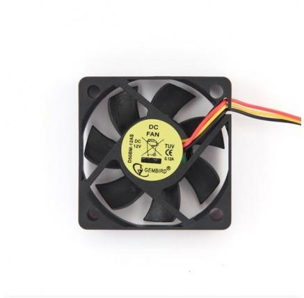GEMBIRD ventilátor do skříně  50x50x10, kuličkové ložisko, sleeve bearing