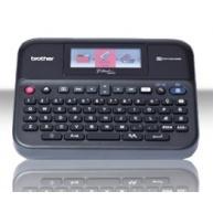BROTHER tiskárna štítků PT-D600VP - 24mm, pásky TZe,USB, s kufrem, Profi. tiskárna s velkým barevným displejem