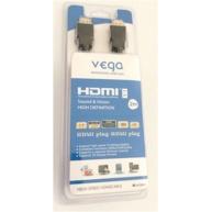 REMAX HDMI kabel profesionál, verze 1.4 délka 2m, pozlacený, černá barva