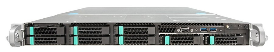 Intel Server System R1208WT2GSR (WILDCAT PASS), Single