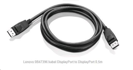 LENOVO adaptér DisplayPort to DisplayPort - přenos signálu přes DP na DP, 0.5metru