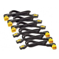 APC Power Cord Kit (6 ks), Locking, C13 to C14, (90°), 1.2m