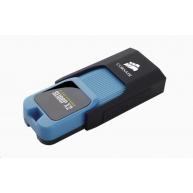 CORSAIR Flash Disk 64GB Voyager Slider X2, USB 3.0, modrá