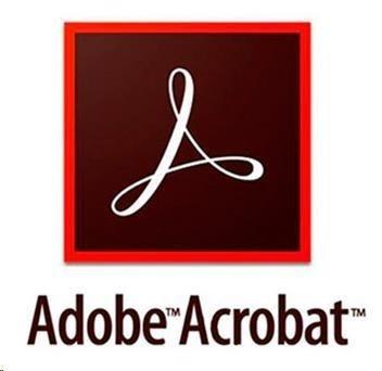 Acrobat Standard DC WIN EU EN TM LIC SUB New 1 User Lvl 14 100+ Month (VIP 3Y)