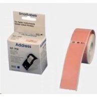 Seiko adresní štítky - růžové, 28x89mm 130ks/role
