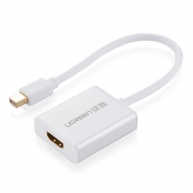 UGREEN mini dp male to HDMI female converter cable - aluminium case