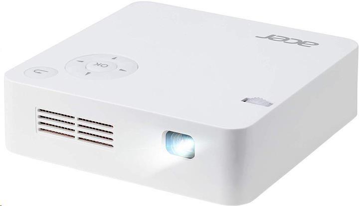 ACER Projektor C202i LED, 854x480,5000:1,300Lm,HDMI,životnost lampy - 20000 hod