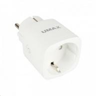 UMAX U-Smart Wifi Plug Mini - Chytrá Wifi zásuvka 16A s měřením spotřeby, časovačem a mobilní aplikací