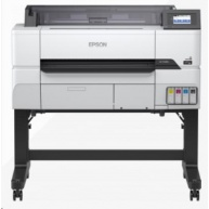 EPSON tiskárna ink SureColor SC-T3405 - wireless printer (with stand), 1.200 x 2.400 dpi ,A1 ,4 ink, USB ,LAN, Wi-Fi