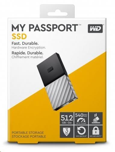 SanDisk externí SSD My Passport SSD 512GB USB