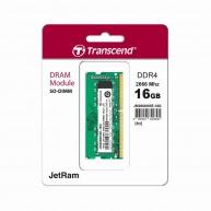 SODIMM DDR4 16GB 2666MHz TRANSCEND 1Rx8 2Gx8 CL19 1.2V - Rozbaleno