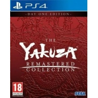 PS4 hra The Yakuza Remastered Collection – Day 1 Edition