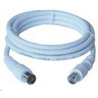 PREMIUMCORD TV kabel anténní propojovací 5m (koaxiální, M/F, 75 Ohm)