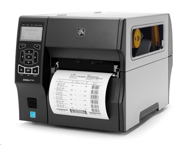 "Zebra TT průmyslová tiskárna ZT420, 6"", 300 dpi, RS232, USB, Bluetooth, EZPL, LAN"