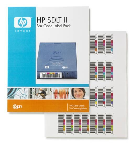 HP SDLT 2 Bar Code Label Pack, Q2006A