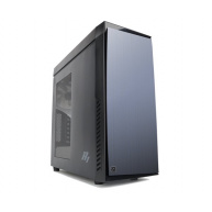 ZALMAN R1 - skříň miditower mATX/ATX, průhledný bok, bez zdroje, USB3.0, černá