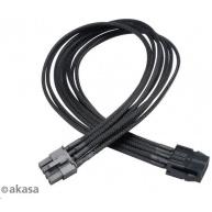 AKASA kabel  Flexa V8 prodloužení k 8pin VGA PSU, 40cm