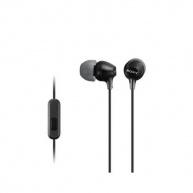 SONY stereo sluchátka MDR-EX15AP, černá
