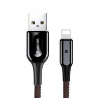 Baseus nabíjecí / datový kabel lightning X-Type Series 1m černá