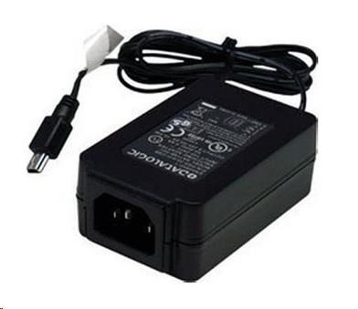 DATALOGIC Power Adapter, 12V DC, AC/DC Regulated, RoHS (For Use with 6003-XXXX Power Cords)
