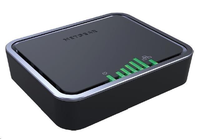 Netgear LB2120 4G LTE Modem, Cat4, 1x gigabit LAN, 1x gigabit WAN, micro SIM slot