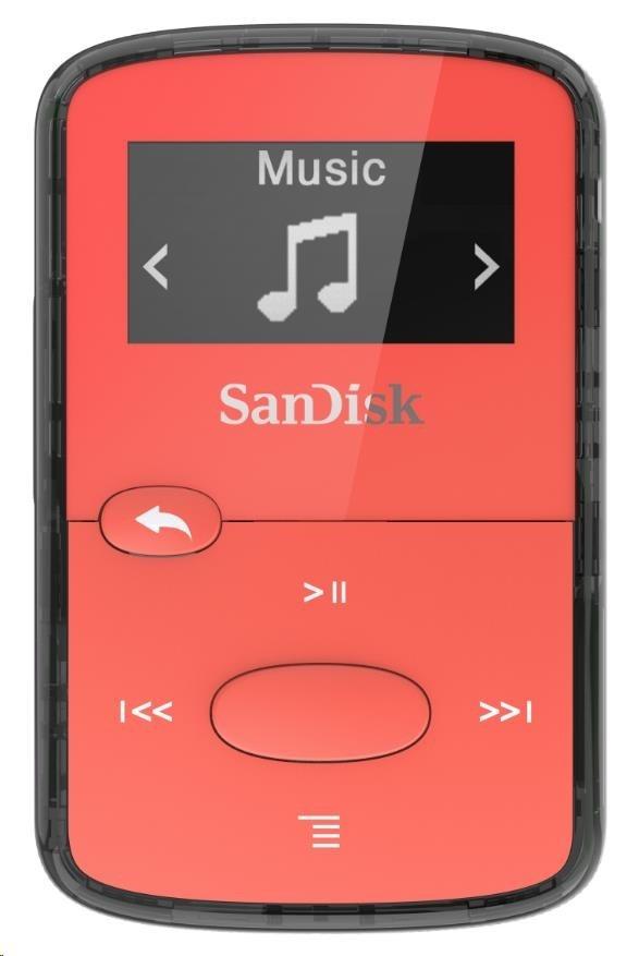 SanDisk Clip JAM, Bright Red 8GB