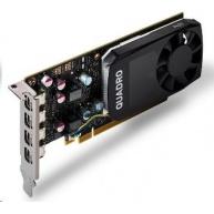 NVIDIA Quadro P620 2GB GDDR5, 4x miniDisplayPort 1.4, 2x adapter mDP->DP, PCIe 16x, low profile