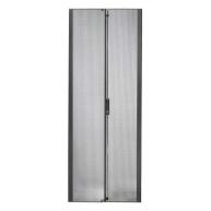 APC NetShelter SX 42U 600mm Wide Perforated Split Doors Black
