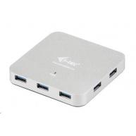 iTec USB 3.0 Hub 7-Port Metal s napájecím adaptérem