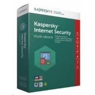 Kaspersky Internet Security 2019 CZ multi-device, 1 zařízení, 1 rok, nová licence, box