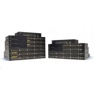 Cisco switch SG350-52P 48x10/100/1000, 2xSFP, 2xGbE SFP/RJ-45, PoE